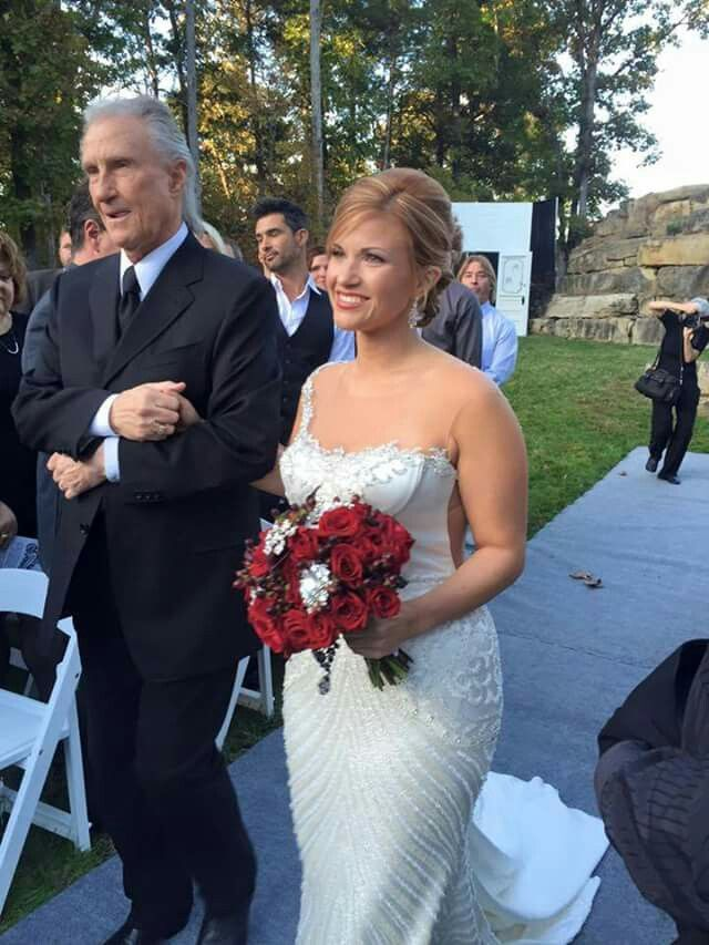 Bill Medley walks daughter McKenna down the aisle at her ...