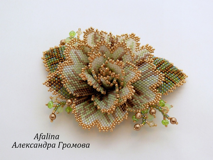 "Beautiful Brooch via  ""Spring 2013"" - Afalina-Sandra"