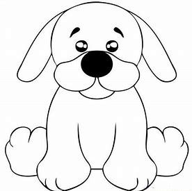 Image Result For Easy Cutest Traceable Puppy Faces Dog Coloring Page Puppy Coloring Pages Dog Quilts