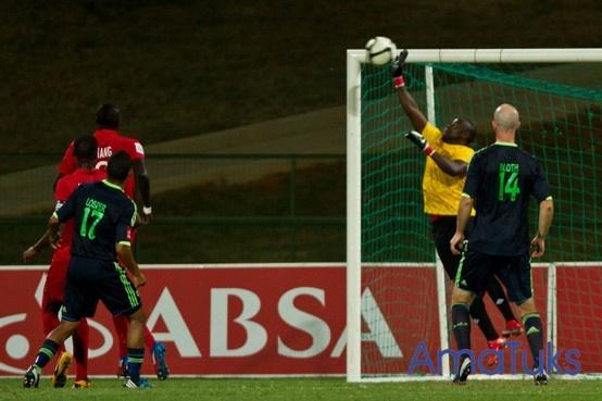 """""""Save"""" Washinton Arubi, 06 March 2013 vs Ajax Cape Town, TUKS Stadium"""