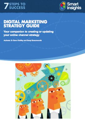Digital marketing strategy advice - Smart Insights Digital Marketing --  A good resource for small to medium sized businesses to plan and manage their own digital strategy