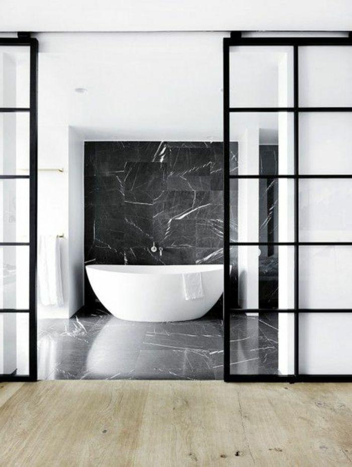 Les 25 meilleures id es de la cat gorie salles de bains en for Mosaique marbre salle de bain