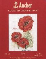 Вышивка крестом Маки: Point, Cross-Stitch, Cross Stitch, Book, Crosstitch Patterns, Cross