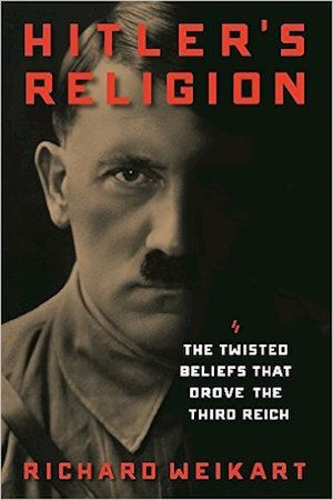 """The famous atheist Christopher Hitchens once responded to a question about the link between Darwinism and Nazism by replying, """"Darwin's thought was not taught in Germany. Darwinism was derided in Germany, along with every other form of unbelief."""" University of Chicago historian Robert Richards in his book, Was Hitler a Darwinian? agrees that Darwinism was persona non grata in Nazi Germany."""