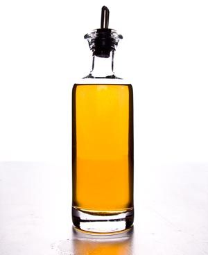 Homemade Chile Infused Vinegar- great for holiday gifts!