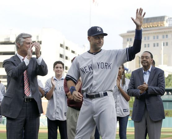 Derek Jeter's retirement ceremony with Tigers a family affair | NJ.com