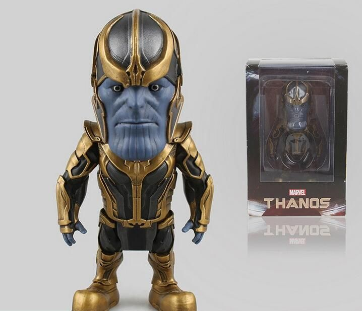 Marvel Guardians of the Galaxy Thanos Q Version 13cm PVC Action Figure Collectible @ $38.99  #Thanos #Death #Marvel