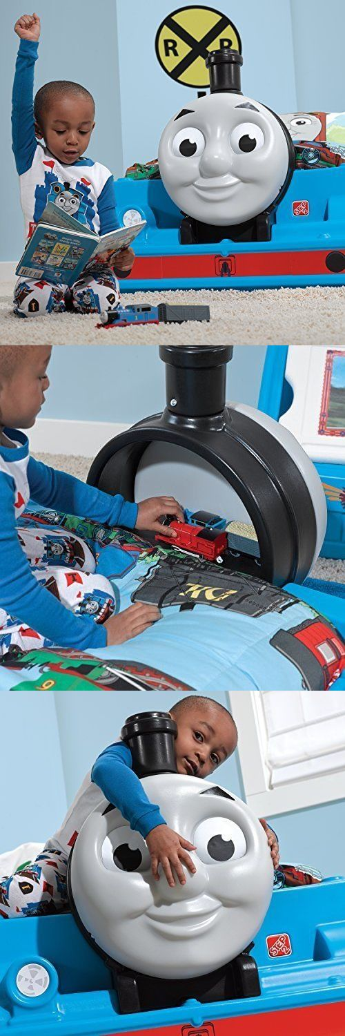 Home Decor: Thomas The Tank Train Engine Toddler Bed -> BUY IT NOW ONLY: $246.5 on eBay!