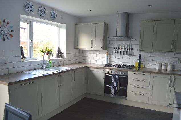 Howdens kitchen grenwich like great before and after too for Kitchen ideas howdens