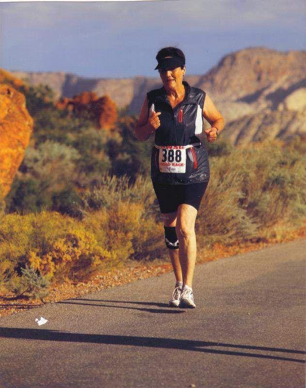 Racing keeps senior woman in shape