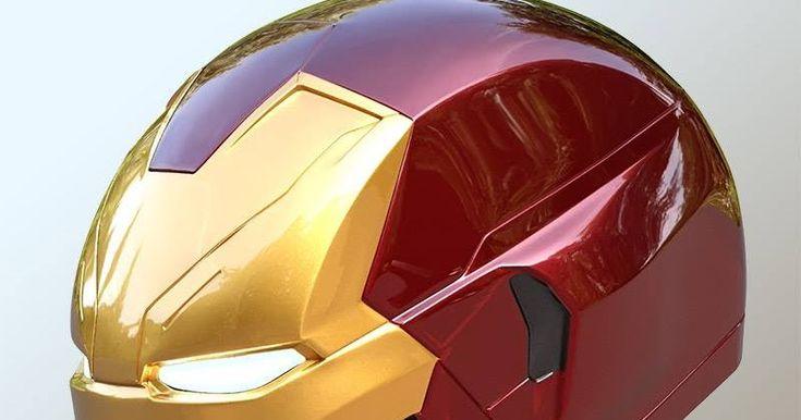Iron Man Mark 46 Cosplay papercraft  Saca só Armor Iron Man Mark 46! Pronta para EVA e a criação de seu cosplay.