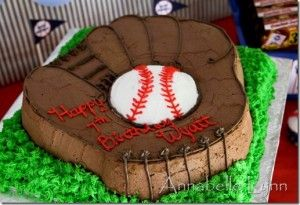 Tons of neat ideas for a baseball themed party