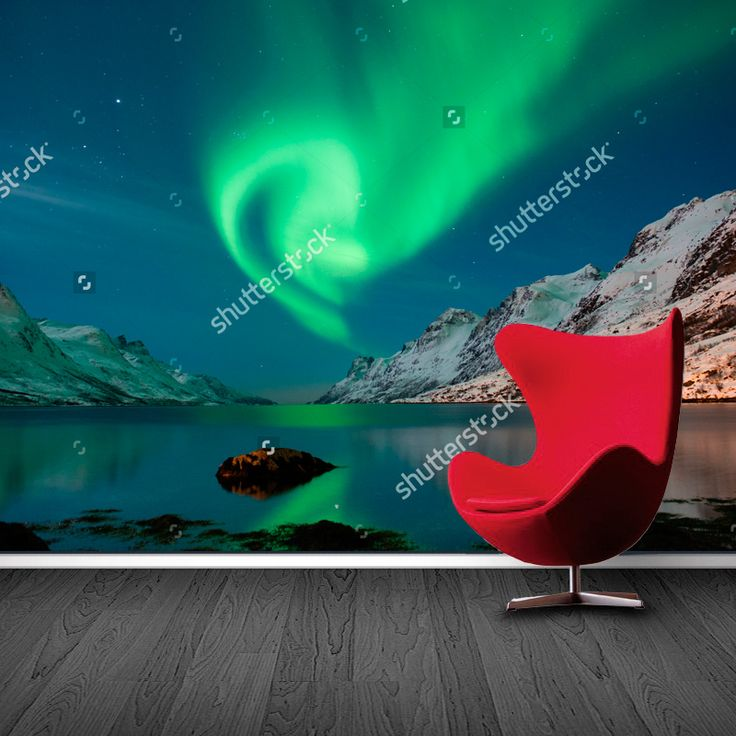 Fotobehang Noorderlicht | Maak het jezelf eenvoudig en bestel fotobehang voorzien van een lijmlaag bij YouPri om zo gemakkelijk jouw woonruimte een nieuwe stijl te geven. Voor het behangen heb je alleen water nodig!   #behang #fotobehang #print #opdruk #afbeelding #diy #behangen #noorderlicht #hemel #lucht #natuur #noorwegen #aura