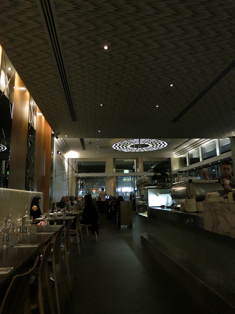 The atmosphere in Cream Canberra - by Kelly from Shanghai