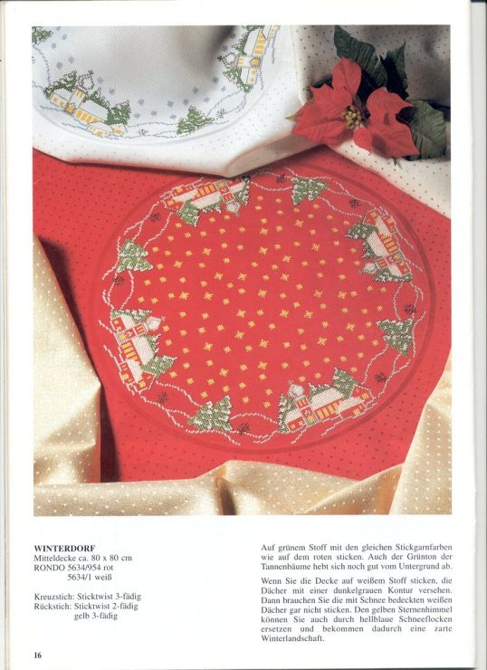Gallery.ru / Фото #18 - Round tablecloths - irislena
