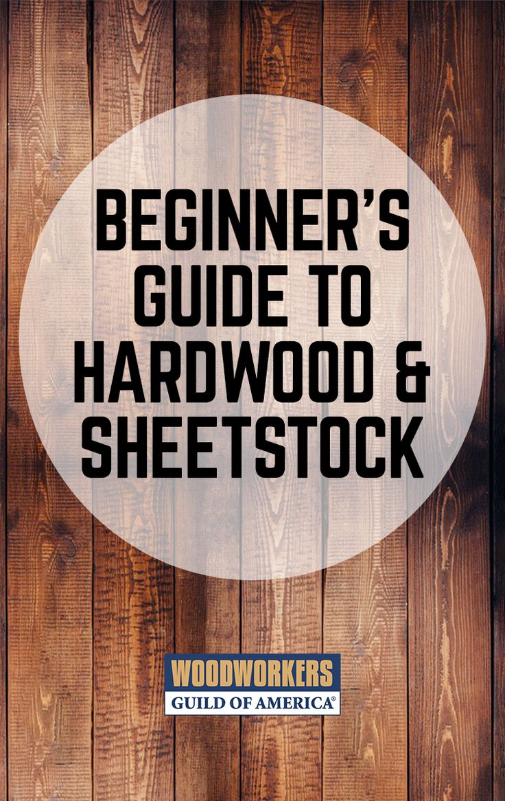 """A common woodworking question is, """"Where should I buy my material?"""" This is a great question. Home centers are not always the answer. Hardwood suppliers are often a better source for material for your woodworking projects."""