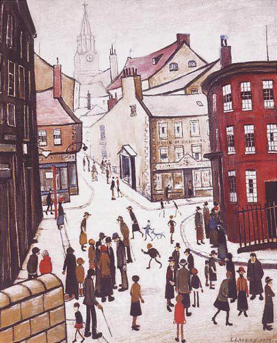 Berwick Upon Tweed, Northumberland by L S Lowry