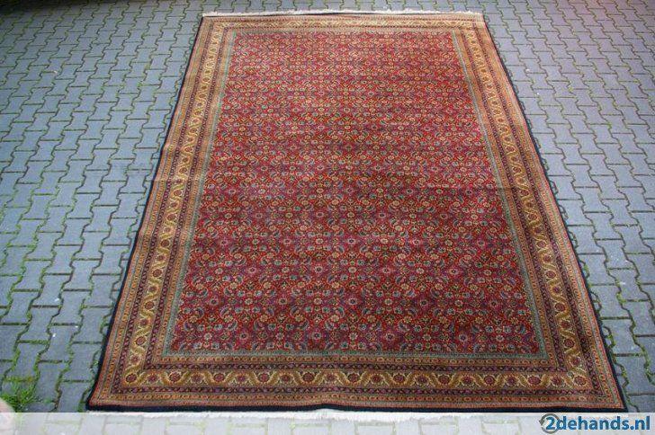 Groot Osman Schah tapijt jaren 70/80, €225,-. - Te koop