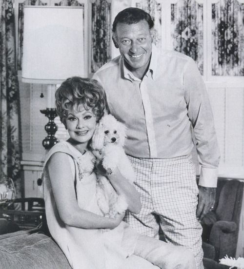 Lucille Ball with second husband Gary Morton: Lucy Gary, Gary Poodle, Adorable Poodles