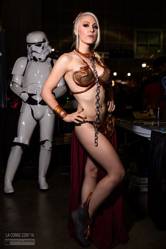 Leia Costume Slave Porn 17