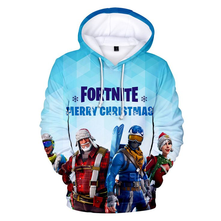 Fortnite hoodies hottest 3d printed