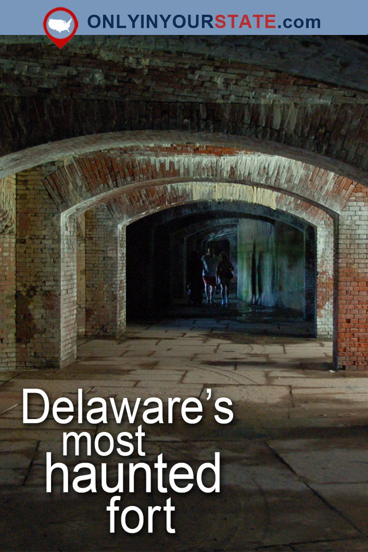 Travel Delaware Attractions Real Haunted Places Haunted US Ghost Stories Abandoned Places Day Trips Abandoned Fort Haunted Delaware Paranormal Activity Scary Fort Delaware Pea Patch Island Haunted Island Historic Tours Smal