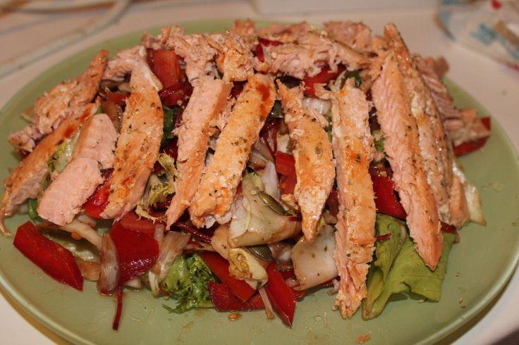 Spring refreshment: SS (salmon salad)