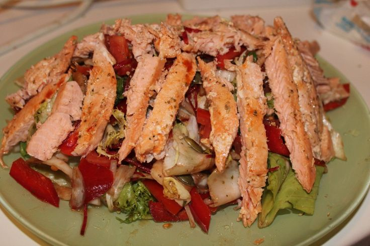 Spring refreshment: SS (salmon salad)