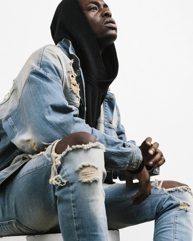 Pas cher Représentent vêtements designer pantalon bleu/noir détruits hommes mince denim droite biker skinny jeans hommes jeans déchirés 30 36, Acheter  Jeans de qualité directement des fournisseurs de Chine: