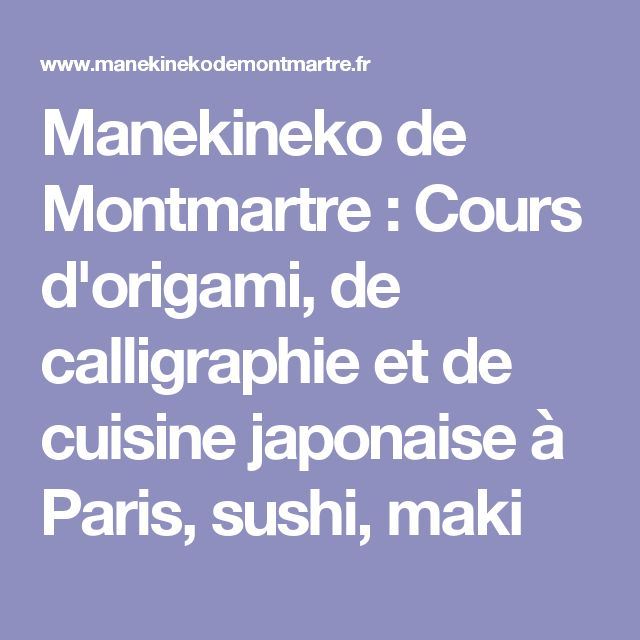 the 25+ best ideas about sushi paris on pinterest | restaurant ... - Cours Cuisine Japonaise Paris