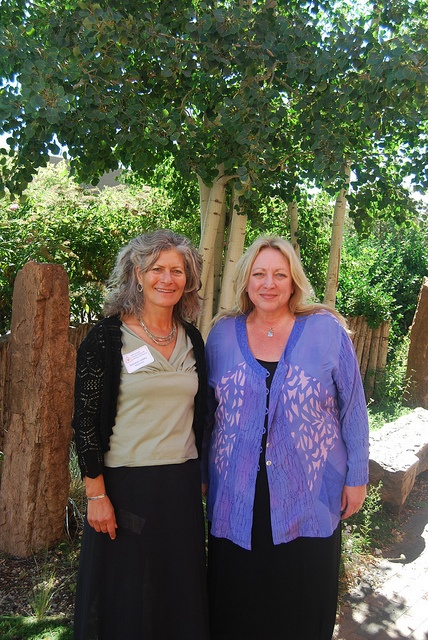 Deborah Harris and Deborah Schroder at the Transformation and Healing Conference...