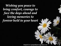 condolences messages for loss - Google Search
