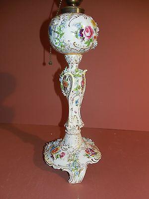 19 best Dresden Porcelain Lamps images on Pinterest ...