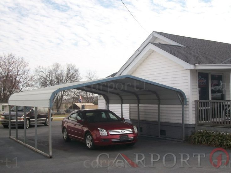 Regular Roof Two Cars Carport Carport prices, Metal