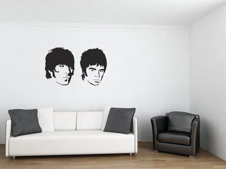 Oasis Wall Sticker Turn Your Wall Into A Wonderwall With This Oasis Wall  Sticker, Featuring Part 42