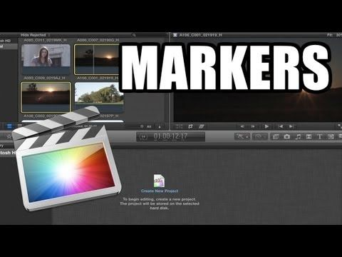 Final Cut Pro X - #44: Markers, Notas y Capítulos - YouTube