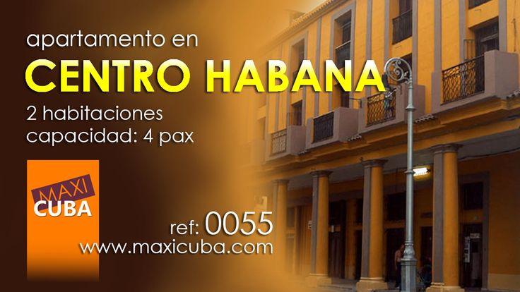 Centro Habana. Apartamento a unos metros del Malecón de la Habana