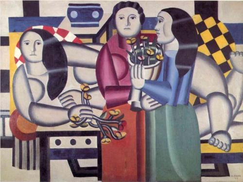 Fernand Léger: Amazing Art, Flowers And Pl, Leger 1881 1955, Ferdnand Leger, Three Woman With Flowing, Three Women'S With Flowing, Fernand Leger, Art Favourit, Light Fernand