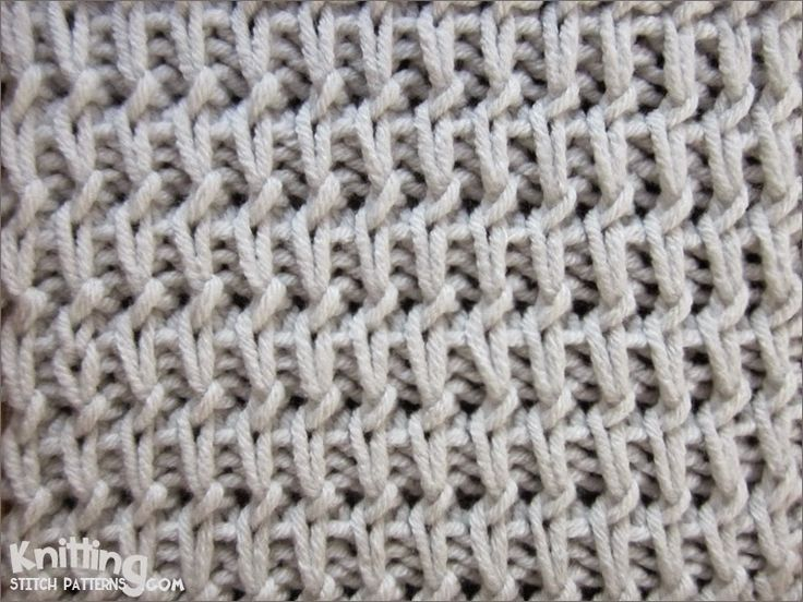 This pattern will make an amazing baggy sweater, scarf, top, skirt or dress – that is anything you have in mind except for something really stretchy and close-fitting because as any slip-stich pattern this one creates beautiful texture at the cost of some elasticity.