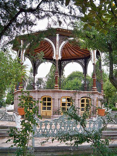 Jardín Rafael Paéz,  Jeréz, Zacatecas, México -- my parent's home town.
