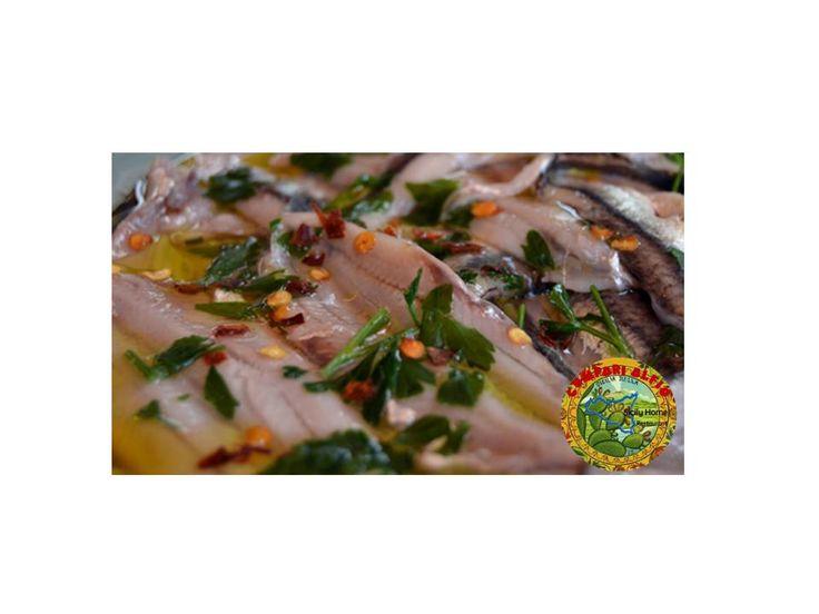 Mediterranean fish marinated