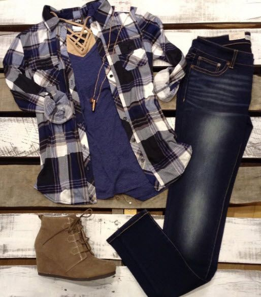 New colors in plaids and we are ready for fall!
