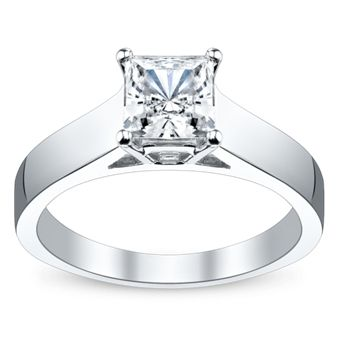 Jeff Cooper 14K White Gold Engagement Ring Setting   My dream engagement ring!!!