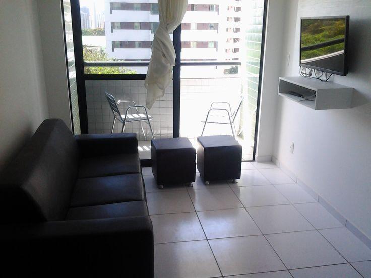 Apartamento 01 Quarto Mobiliado Prédio Novo