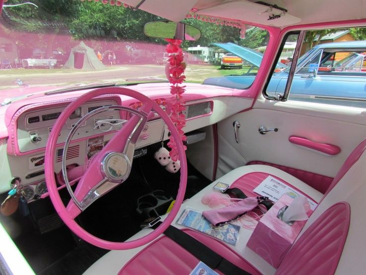 17 Best Ideas About Pink Car Interior On Pinterest