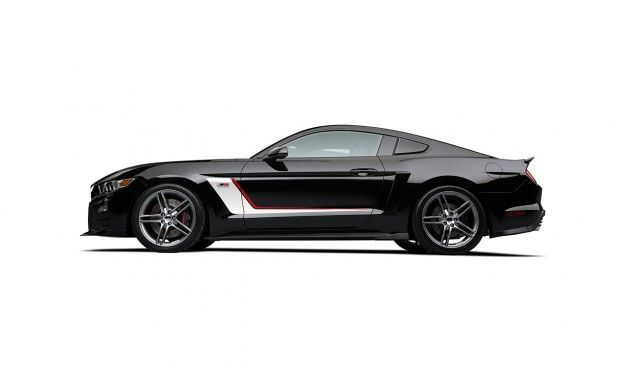 2015 Roush Stage 3 Mustang ast time we reported on the 2015 Roush Stage 3 Mustang, a.k.a. RS3, the company had just opened the order banks and hinted to us that the final output figure of the RS3's supercharged 5.0-liter Coyote V-8 could be in excess of 630 horsepower. Now we know that Roush was being rather coy with that figure, revealing today that the RS3 pumps out no less than 670 ponies at its 6800-rpm redline, with 545 lb-ft of torque arriving at 5000 revs, all courtesy of Roush's…