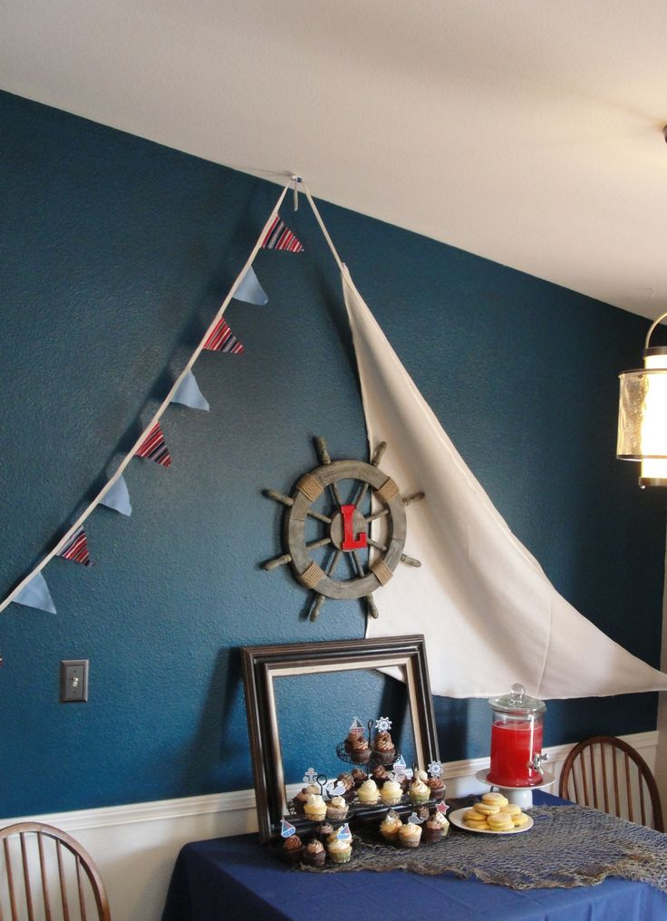 We could do the alternating banner/sail off the office side of the deck