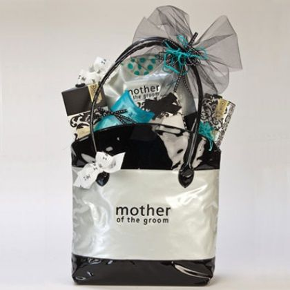 Gift Idea For Mother Of The Bride Or Groom Extra Large Tote Bag With Matching Cosmetic And Spa Products This Is Such A Cute