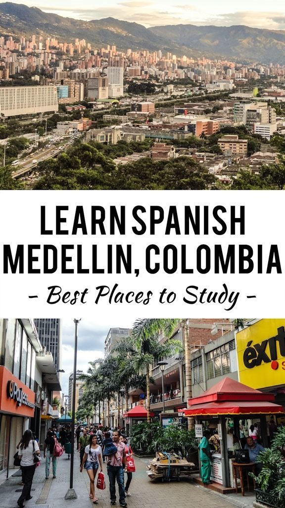 Want to learn Spanish in Medellin, Colombia? Here are my recommendations after living in Medellin for more than two years and becoming fluent in Spanish.