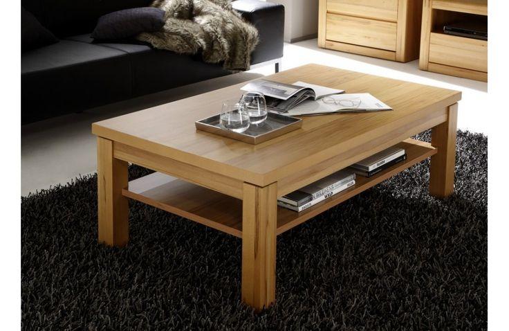 Table de salon en bois - Meuble de salon en bois - Meuble et Canape.com